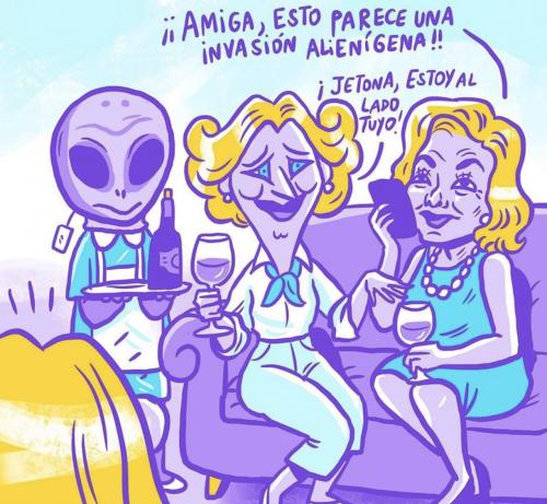 María Antonieta y el Encuentro entre dos mundos